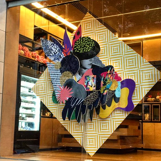 #windowdisplay Grafic Chik , Layer of graphics for my favourite piece