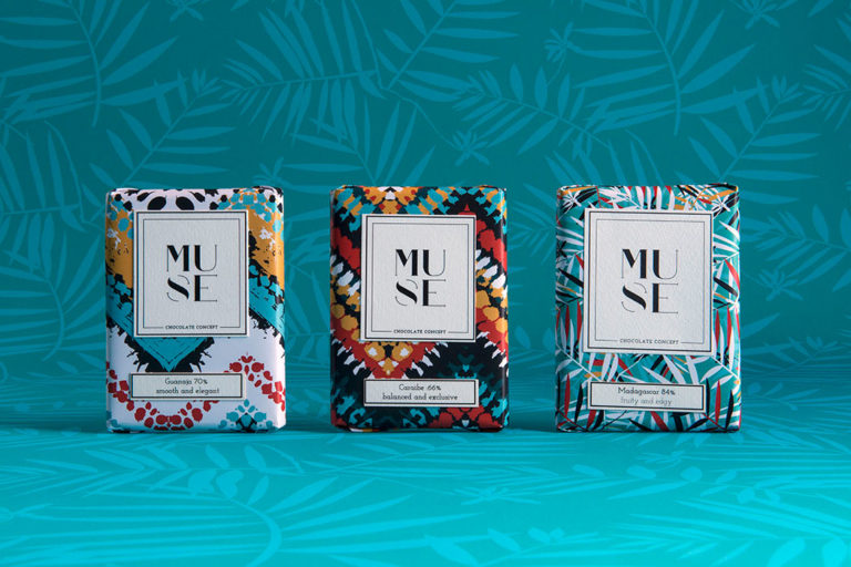 African inspired packaging